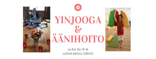 yinjooga & äänihoito